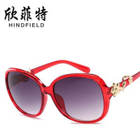 Women colorful multicolor Toad sunglasses Plastic Titanium frames Golden Rose glasses UV400 ultraviolet-proof lens Eyeglasses