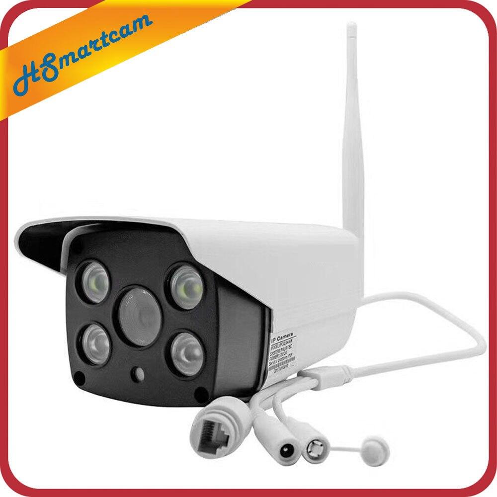 Yoosee Беспроводной 1080 P HD IP Камера WI-FI ONVIF P2P Водонепроницаемый 20 м ИК Открытый MIC IP Cam Поддержка SD TF Аудио запись видео