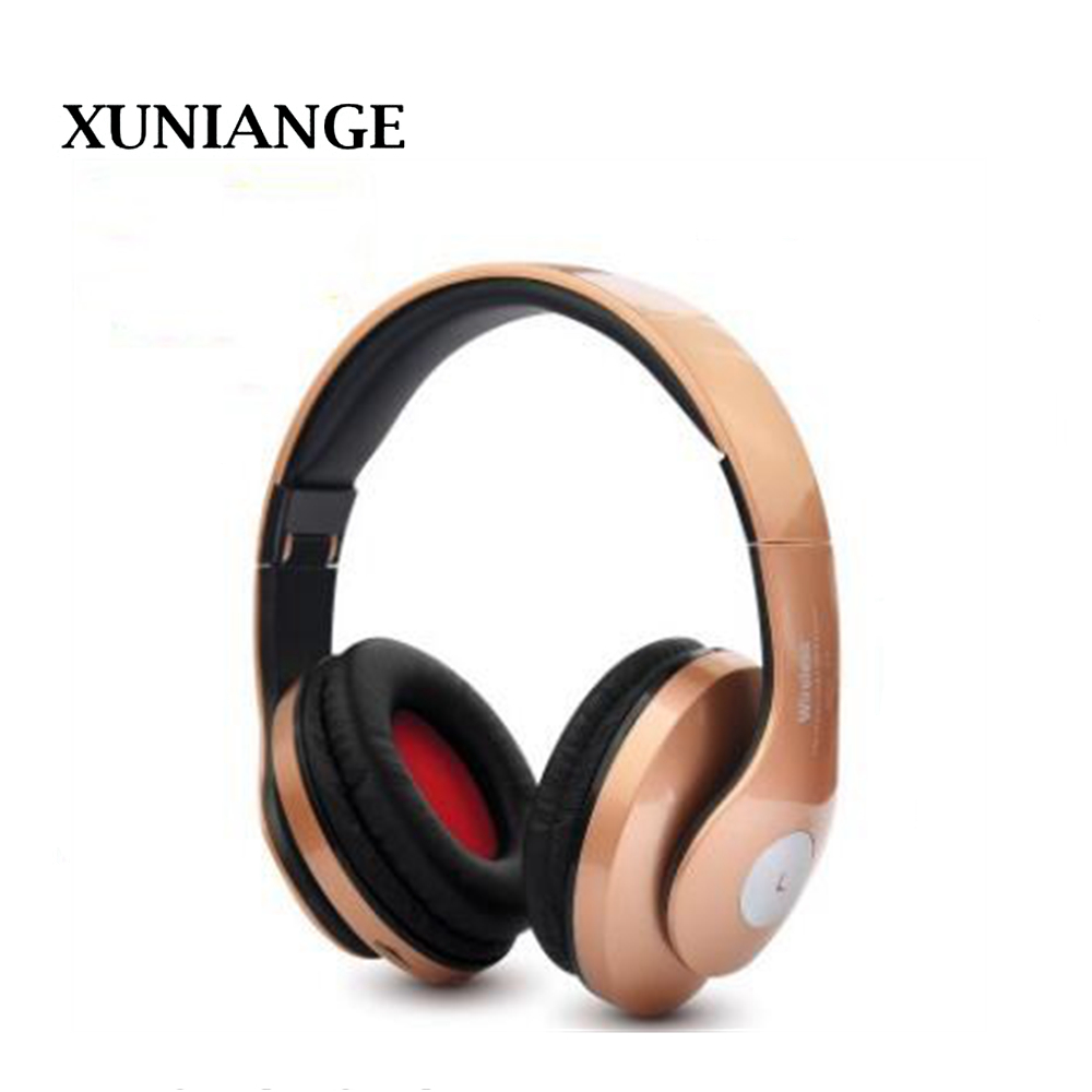 Wireless Headphones XUNIANGE Bluetooth Headset Earphone Headphone Earbuds Earphones With Microphone For mobile phone music цены онлайн