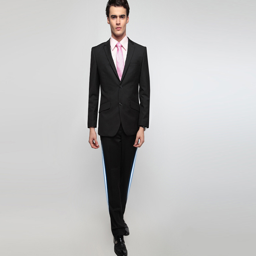 Classic Business Style Suit Groom Tuxedos Wedding Suit