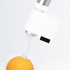 Image 2 - Xiaoda Zajia Inductie Water Saver Intelligente Infrarood Inductie Water Kraan Anti Overflow Swivel Hoofd Waterbesparende Nozzle Tap