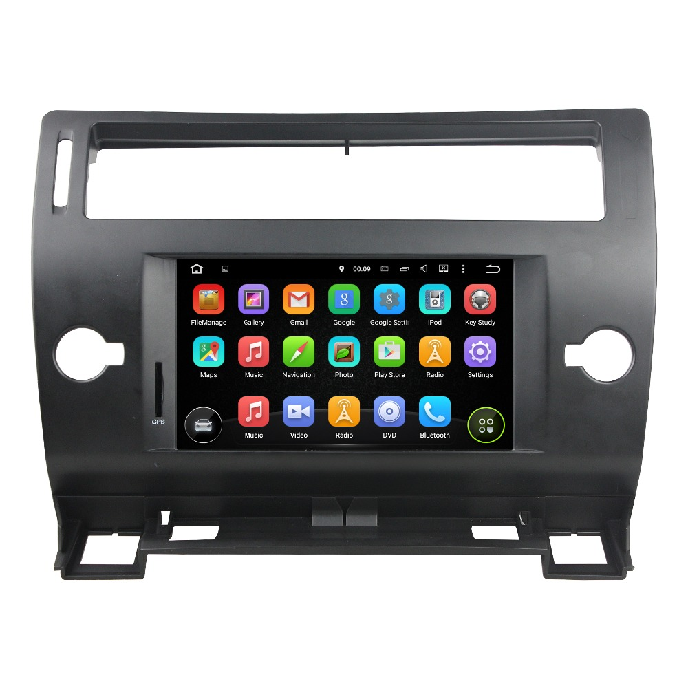 KLYDE 7 Separate Android 8.1 Car Radio For CITROEN C4 2005 2011 Car Stereo Flansh 16GB Car Audio CANBUS Multimedia Car DVD