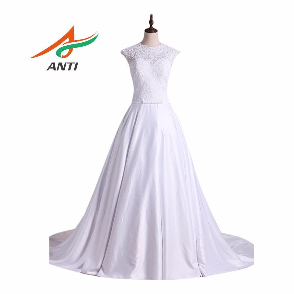 Антиромантическое ТРАПЕЦИЕВИДНОЕ свадебное платье Vestido De Casamento Robe De Mariage свадебные платья Vestido De Noiva темперамент матовый атлас