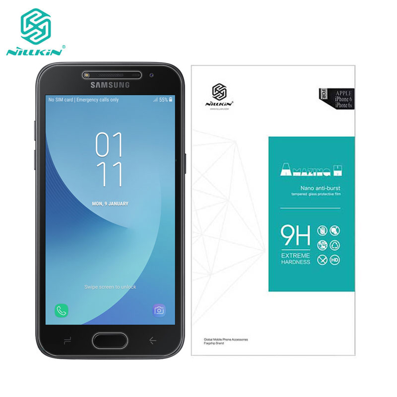 sFor Samsung J2 2018 Tempered Glass Nillkin Amazing H Screen Protector For Samsung Galaxy J2 Pro 2018 J250F