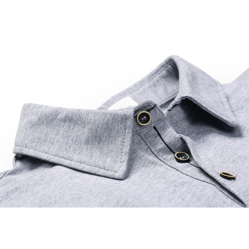 JSY Mens Short Sleeve Summer Slim Fit Cotton Solid Button Down Shirts