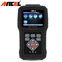Ancel AD610 Auto Diagnostic Tool OBD2 Automotive Scanner SAS ABS SRS Airbag Crash Data Reset OBD2