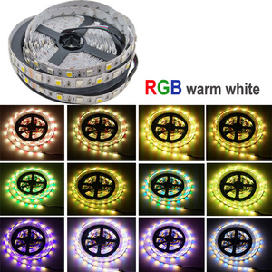 Image 5 - 5050 RGBW/WW LED Strip Light WIFI Controller Neon Lamp 20M Stripes Decor Flexible Tape tira fita Diode Ribbon DC 12V Adapter Set