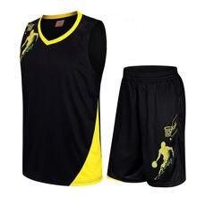5d716069c02d Kids Basketball Jersey Sets Uniforms kits Child Boys Girls Sports clothing  Breathable Youth Training basketball jerseys