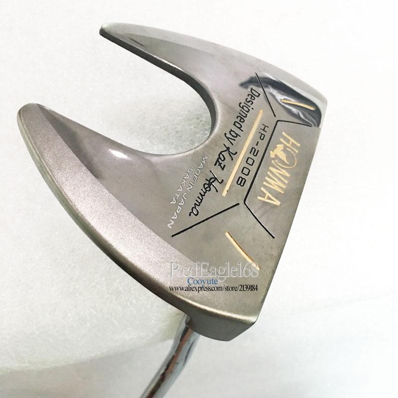 Cooyute oferta Especial Novos clubes de Golfe HONMA Golf putter Golf eixo de aço headcover Livre e grátis