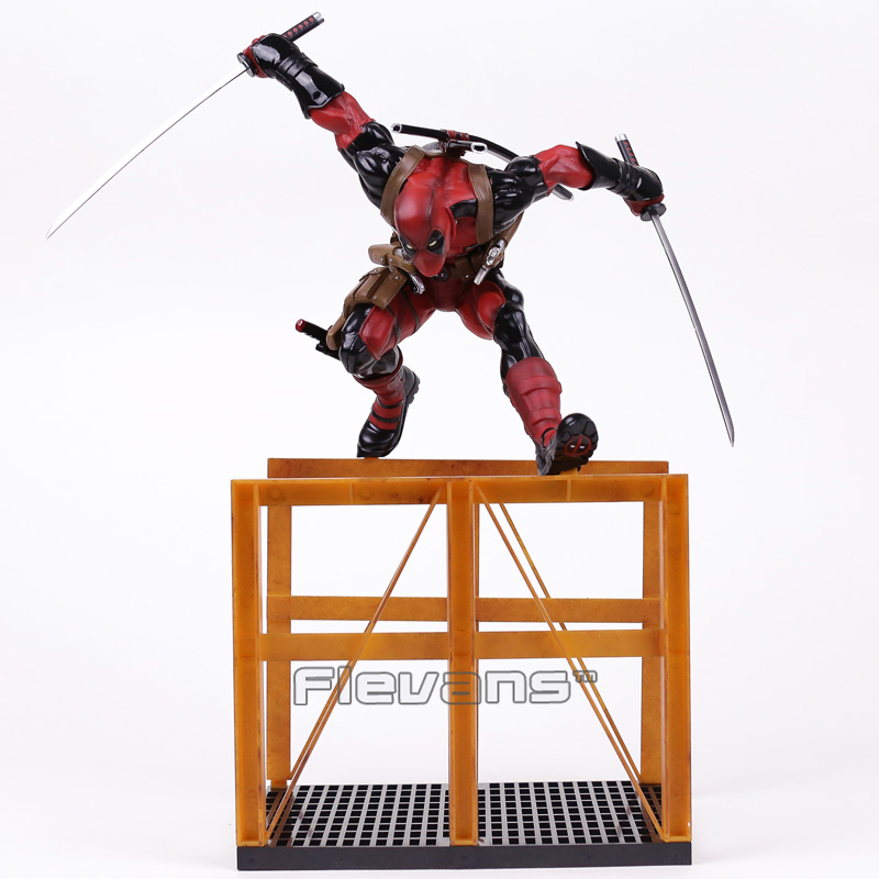 Crazy Toys Deadpool 2 1/6th Scale Statue PVC Figure Collectible Model Toy 40cm 16inch 40cm crazy toys deadpool 2 pvc action figure collectible model toy deadpool toy