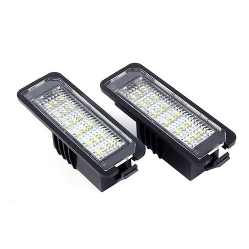 Vodool 2pcs 12v Led Number License Plate Light Lamps Car License Plate Lights Exterior Accessories For Vw Golf 4 5 6 7 Polo 6r Big Promo 2aea6 Gen Namibia