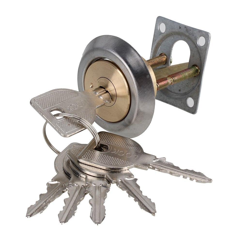 Gates Doors Mortice Door Knobs use with Rim Door Lock Sheds WHITE Plastic Rim