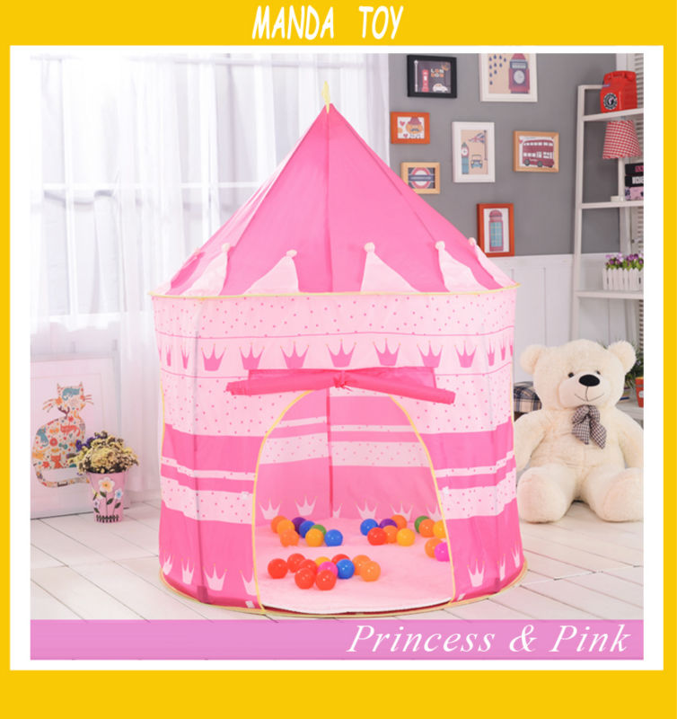2 Colors Portable Foldable Play Tent Prince Folding Tent Kids Children Boy Castle Cubby Play House Kids Gifts Outdoor Toy Tents-in Toy Tents from Toys ...  sc 1 st  AliExpress.com : fold up play tent - memphite.com