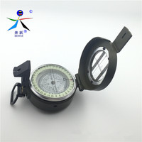 2017 High Quality Precision Multi Function Field Of Zinc Alloy Metal Compasses Outdoor Compass With Noctilucent