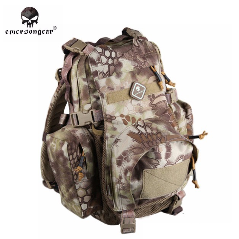 EMERSON Yote Rucksack Hydration Tactical Bag 1000D Cordura Molle Military Tactical Backpack Shoulder Hunting Bag Highlander emerson yote rucksack hydration tactical bag 1000d cordura molle military tactical backpack shoulder hunting bag highlander