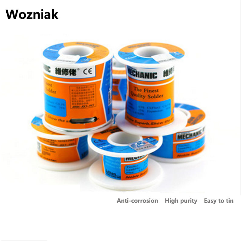 Wozniak Solder Wire 0.2mm Welding Wire Free Clean Rosin Core High Brightness MCN Low Melting Point Soldering Tools стоимость