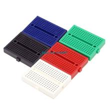 5pcs/lot New Colorful Mini Solderless Breadboard 170 Tie Points Electronic Components (SYB-170) 3.5*4.7*0.85cm