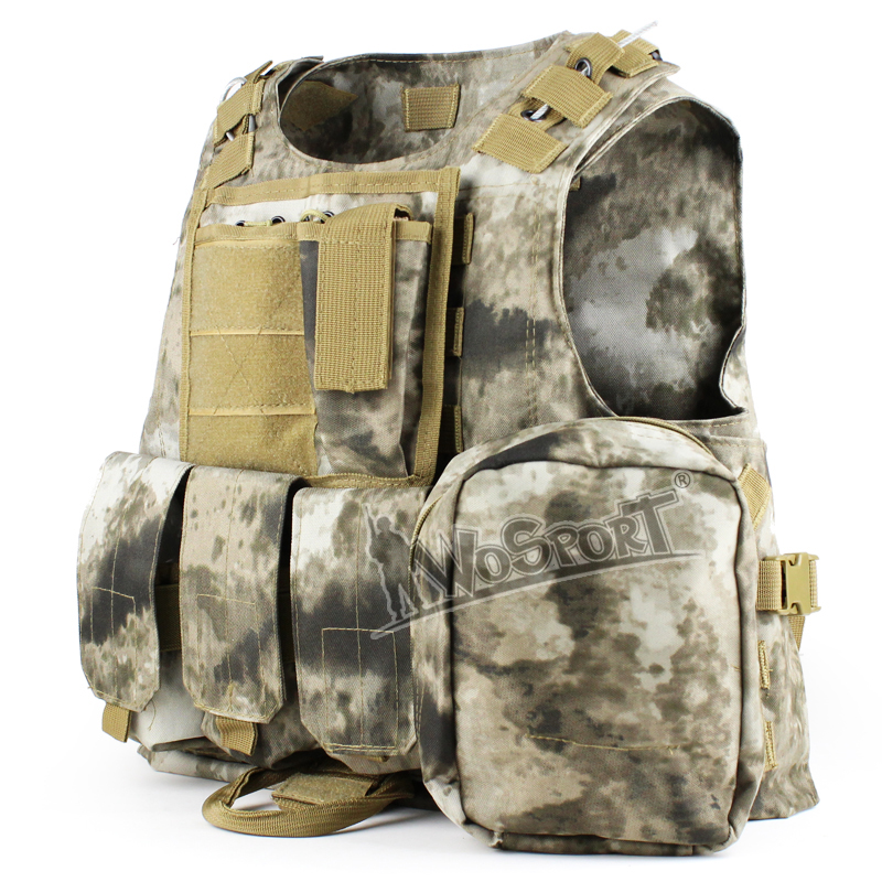 Military Army Combat Molle Hunting Vest Outdoor Tactical Hunting Airsoft CS Camouflage Vest Training Combat Uniform Hunting Vest