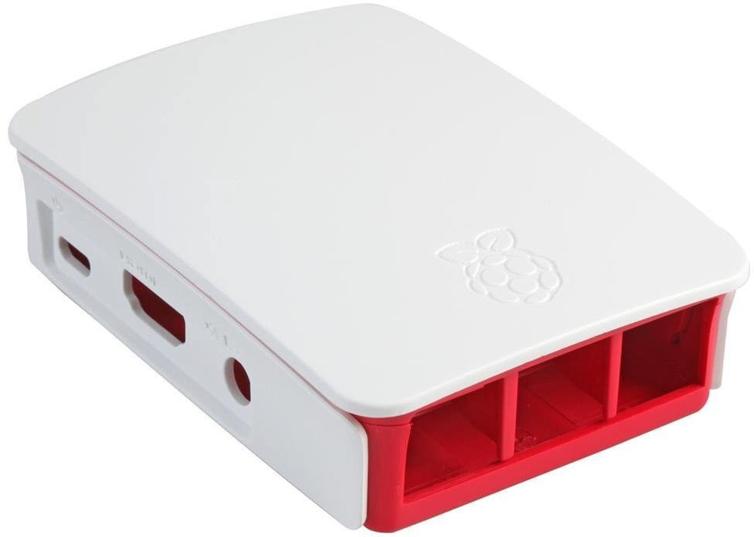 Official Raspberry Pi 3 Case for Raspberry Pi 3 Model B only Red/White