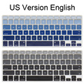 English US Enter keyboard Cover for MacBook Air 13 inch A1466 A1369