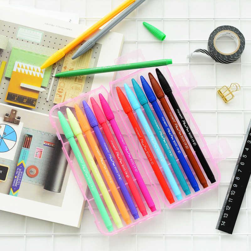 MONAMI 0.3 Mm 36 couleurs Fineliner stylos Superfine marqueur stylo étanche Anime bande dessinée stylo pas floraison Durable marqueurs d'art