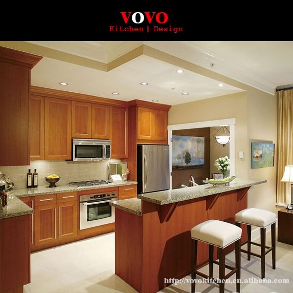 Muebles de madera de cerezo cocina islas en gabinetes de - Islas de cocina ...