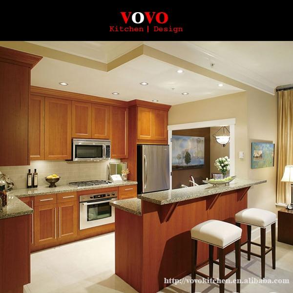 Muebles de madera de cerezo cocina islas en Gabinetes de cocina de ...
