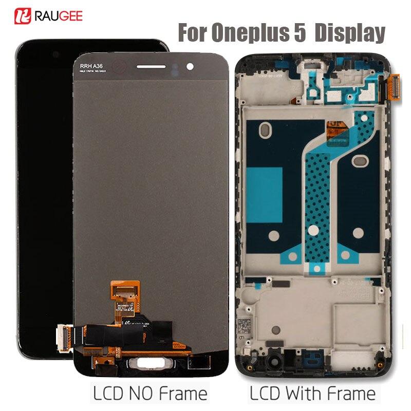 Oneplus 5 écran LCD haute qualité nouveau Oneplus de remplacement 5 écran LCD + écran tactile avec cadre pour Oneplus 5 affichage testé 5.5