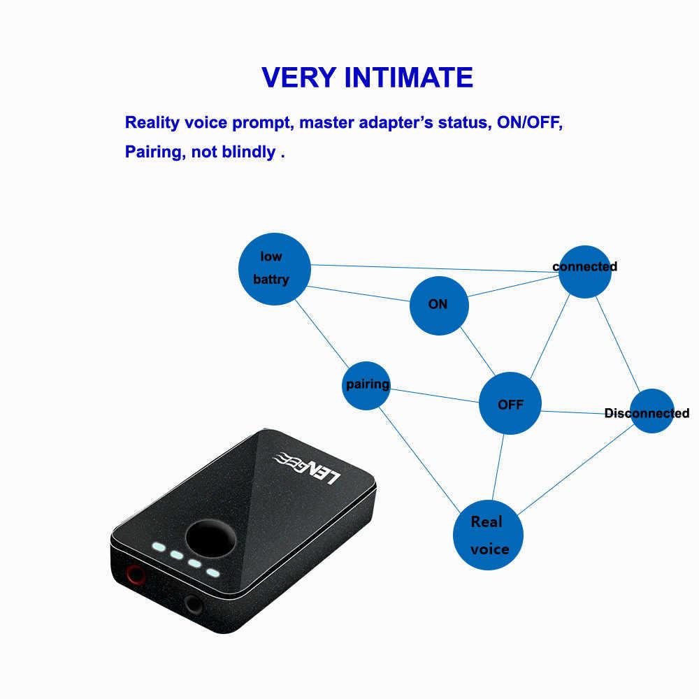 2-in-1 B8 Bluetooth 4.1 Adapter A2DP Stereo bezprzewodowy odbiornik audio nadajnik 4.12