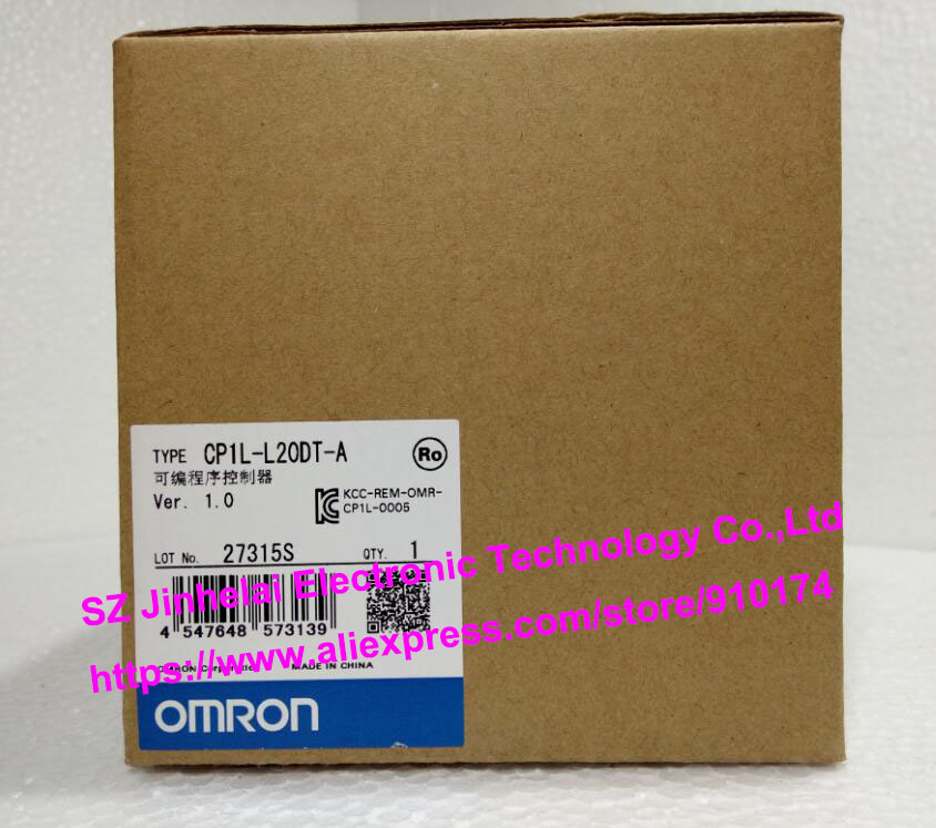 100% New and original  CP1L-L20DT-A  OMRON PLC CONTROLLER [zob] 100% new original omron omron proximity switch e2e x10d1 n 2m