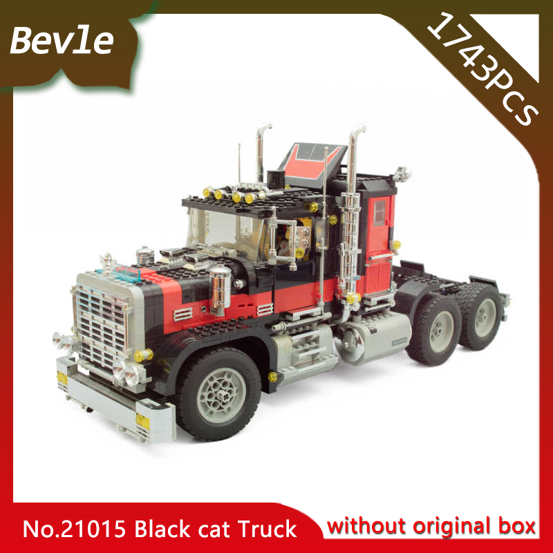 Doinbby Store  21015 1743Pcs Technic Series Out of Print American Black Cat Truck Building Blocks Bricks Toys For Children managing the store