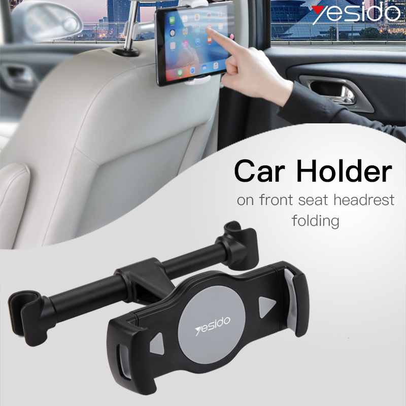 Yesido C29 Universal Rear Seat Car Phone Tablet Holder Adjustable Car Mount Holder Tablet Mobile Phone Stand Support For IPhone