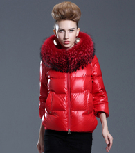 Europe Fashion Winter Women Jackets and Coats Luxury Raccoon Fur Womens Parka femme abrigos y chaquetas mujer invierno 2015