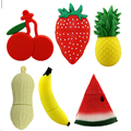 Pendrive Fruits USB Drive 4GB 8GB 16GB 32GB 64GB Cartoon Strawberry USB Stick  Memory Stick Flash Disk Free shipping