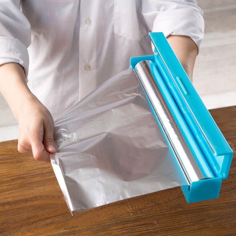 Plastic Wrap Dispenser Saran Wrap Cutter