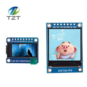 IPS 0.96/1.3 inch 7P SPI HD 65K Full Color OLED Module ST7735 Drive IC 80*160 0.96 TFT