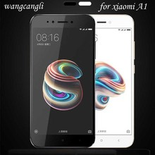 wangcangli tempered glass for xiaomi a1 screen Protective film protector mi Explosion-proof