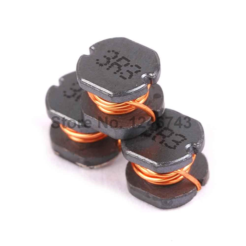 50PCS Chip Power Inductor CD54 3.3uH 3R3 5*5*4mm