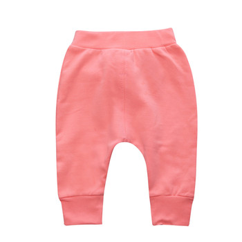 Baby Boys Girls Pants Fashion High Waisted Casual Baby Girls Long Pants For Baby Casual Trousers Boys Girls Clothes Harem Pants 1