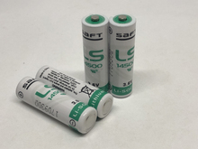 цена на 100PCS/LOT Brand New Version SAFT LS14500 AA 3.6v lithium battery Batteries Made in France EMS DHL Free Shipping