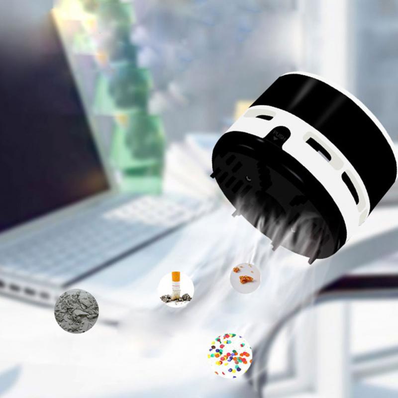 New Design Mini font b Vacuum b font Cleaner Desktop Laptop Keyboard Desk Dust Brush Portable