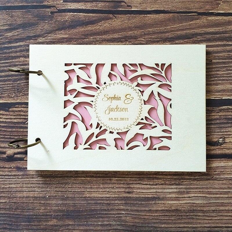 Personnalise Rustique Arbre De Mariage Livre D Or Mariage Livre D Or Personnalise Bois Fiancailles Anniversaire Cadeau Mariage Memoire Livre Album
