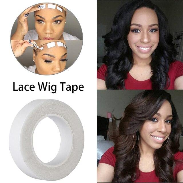 3,0 метров/рулон кружева парик клей лента для наращивания волос двусторонний клей двухсторонняя клейкая лента для сенсорного экрана клеи лента наружная, переплетение удлинитель для ресниц