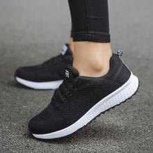 Comemore/Кроссовки Женская спортивная обувь на шнуровке для начинающих резиновая модная сетчатая обувь с круглым поперечным Ремешком на плоской подошве кроссовки для бега