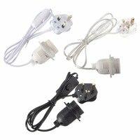 1 5m Power Cord E27 E26 Lamp Base Lamp Holder Light Bulb Socket Holder With Switch