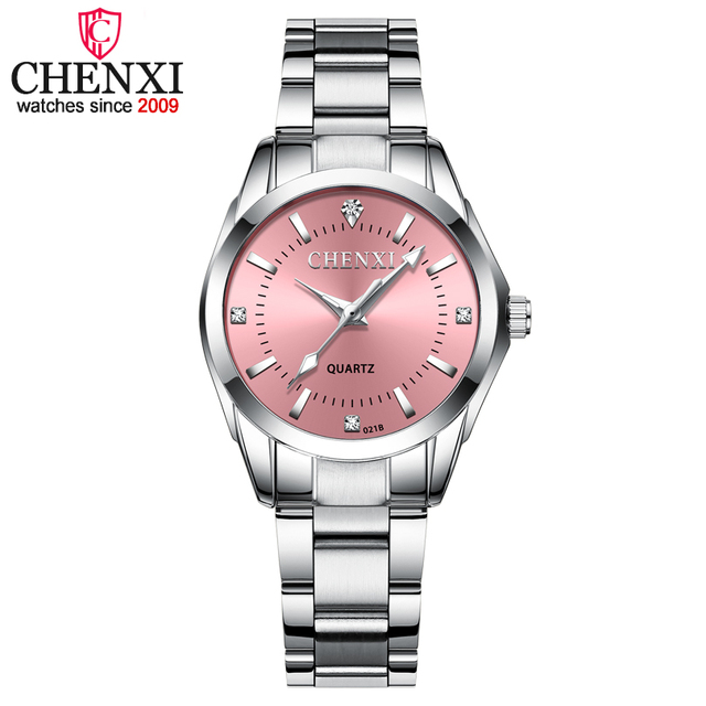 CHENXI Fashion Women Colorful Dial Reloj Mujer Concise Girl Wrist Watches Female