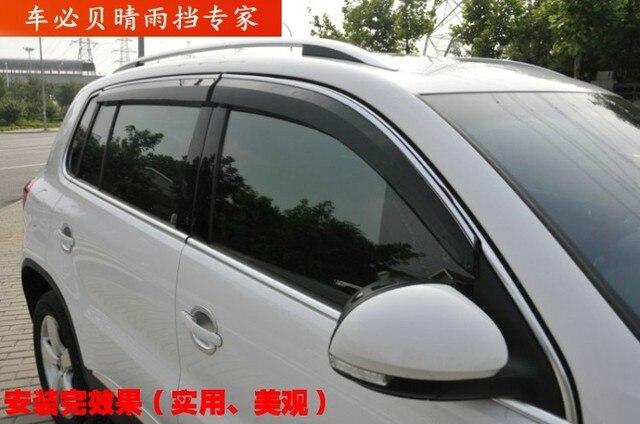 Window Visor Vent Shades Sun Rain Deflector Guard For  X-Trail T31 08 09 10 11 12 2008 2009 2010 2011 2012 2013