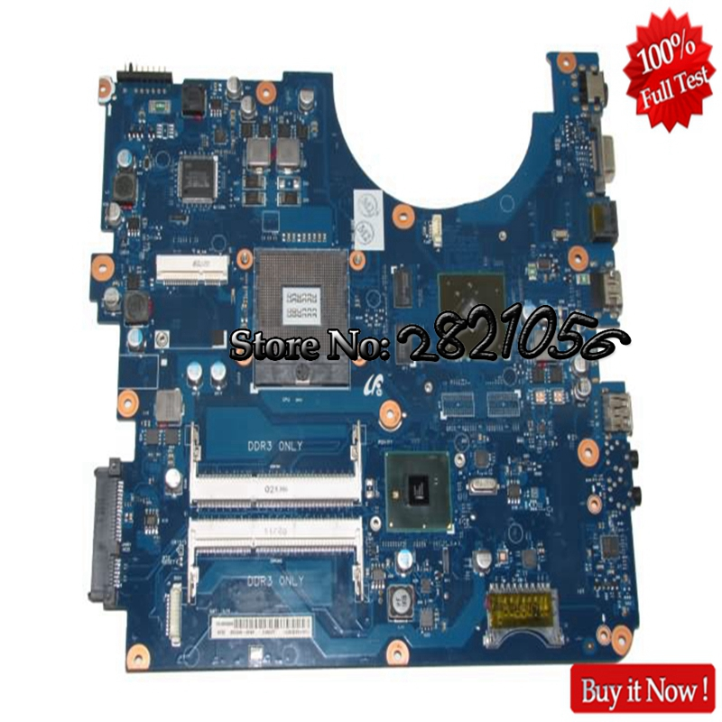 NOKOTION For Samsung R530 R730 P530 Laptop BA92-06502A Main Board HM55 DDR3 GeForce GT310M nokotion laptop motherboard for dell vostro 3500 cn 0w79x4 0w79x4 w79x4 main board hm57 ddr3 geforce gt310m discrete graphics