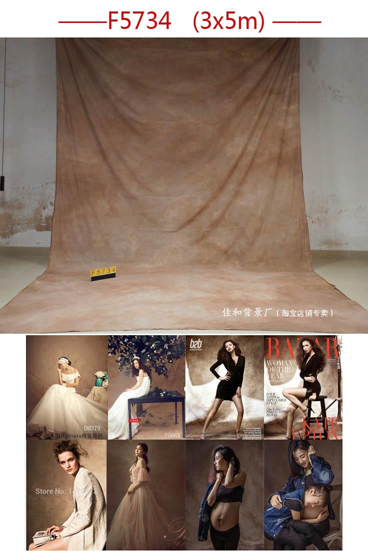Professionnel Tye-Die Muslin Toile de Fond de mariage F5734, fondali fotografici, photographique studio fond, photo de mariage décors