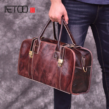 AETOO Fashion retro mens handbag, mad horse leather bags, handmade bags